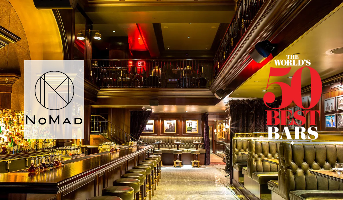 The World 50 Best Bar | NoMad New York